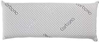 Olympus Sleep Visco Plus Pillow, algodón-poliéster, Black, 150 x 35 x 12 cm