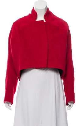 Zero Maria Cornejo Cropped Stand Collar Jacket