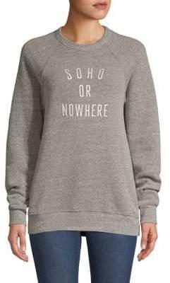 Soho Or Nowhere Crewneck Sweater