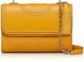Tory Burch Fleming Quilted Leather Small Convertible Shoulder Bag