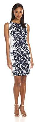 Ronni Nicole Women's Sleevless Floral Printed Sheath