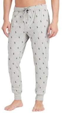 Polo Ralph Lauren Pony-Print Jersey Jogger Pants