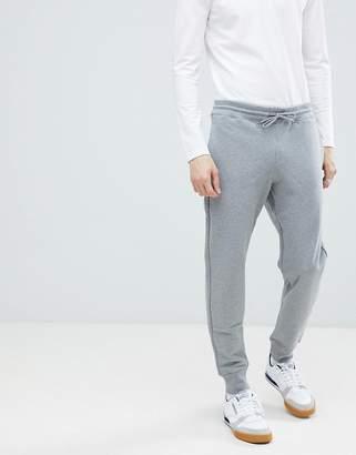 Paul Smith logo sweat joggers in grey
