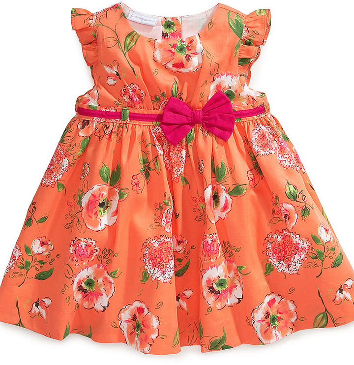 First Impressions Baby Dress, Baby Girls Floral Dress