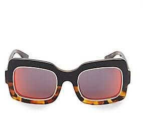 Dax Gabler Gabler Women's 51MM Two-Tone Square Sunglasses