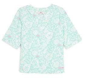 Vineyard Vines Little Girl's& Girl's Sealife Tunic