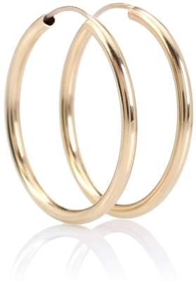 Loren Stewart Ultra Light 14kt gold hoop earrings