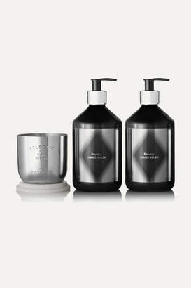 Tom Dixon Royalty Candle Gift Set - Silver