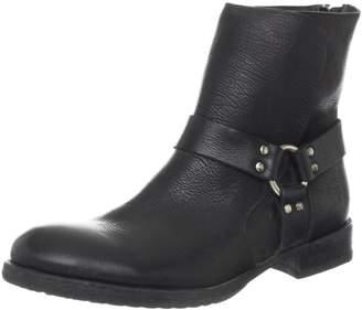 Frye Men's Dean Harness Boot Black Stone Antiqued 12 D (M) US
