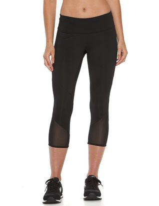 Women's Tek Gear® Power Mesh Running Capris $30 thestylecure.com