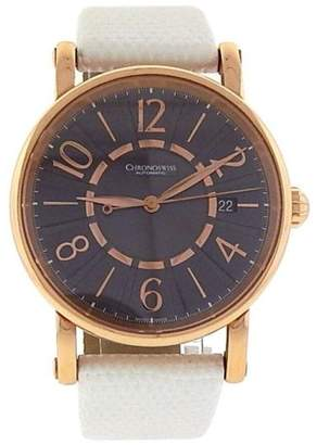 Chronoswiss Classic CH 2821R 18K Rose Gold Arabic Numerals Automatic 38mm Mens Watch