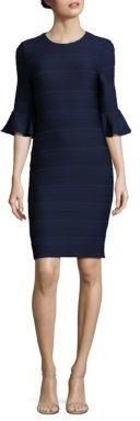 Shoshanna Ottoman Stitch Jacquard Dress $395 thestylecure.com