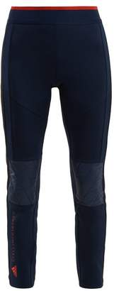 adidas by Stella McCartney Train Panel Peformance Trousers - Womens - Navy Multi