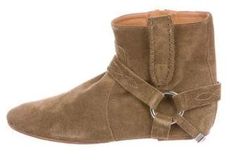 Isabel Marant Étoile Ralf Gaucho Suede Ankle Boots