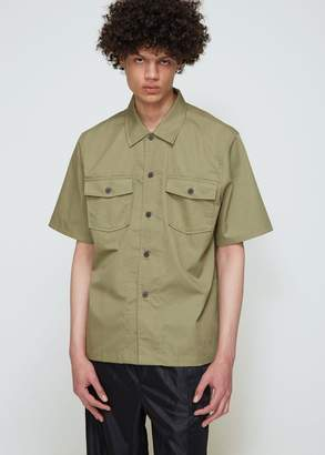 Our Legacy Tactical Twill Chamois Short Sleeve Shirt