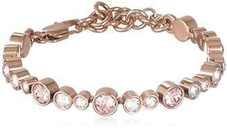 Dyrberg/Kern Dyrberg / Kern Women's Bracelet-Stainless Steel / Crystal Pink rotgolden 337057–18.3 CM