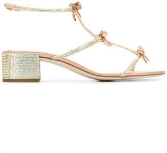 Rene Caovilla crystal-embellished sandals