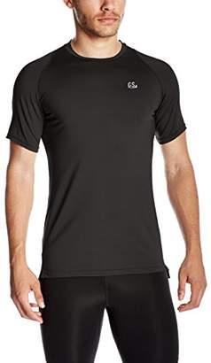 Goodsport Men's Moisture-Wicking Round-Neck Short-Sleeve Tee
