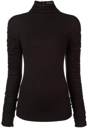 Josie Natori stretch knit sweater