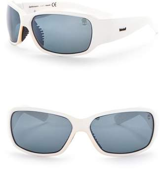 Timberland Wrap 66mm Polarized Sunglasses