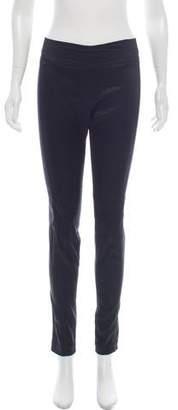 Diane von Furstenberg Mid-Rise Skinny-Leg Pants