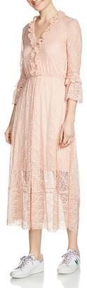 Maje Romancia Lace Midi Dress $595 thestylecure.com