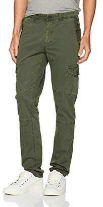 Michael Bastian Men's Pigment Garment Dyed Stretch Cotton Twill Cargo Pant