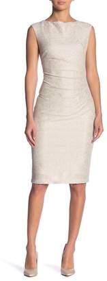 Marina Textured Foil Dress