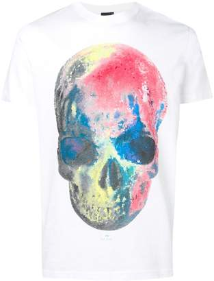 Paul Smith printed skull T-shirt