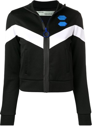Off-White chevron track jacket