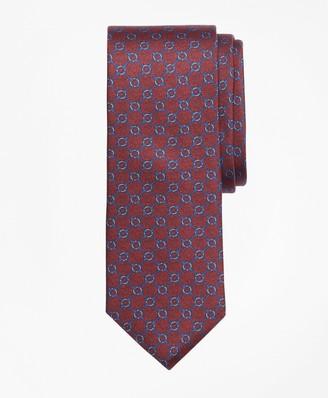 Brooks Brothers Square Link Print Tie