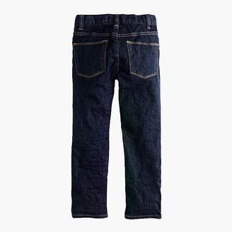 J.Crew Boys' wrinkle rinse wash in slim fit
