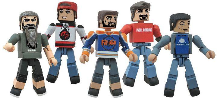 Diamond select toys AMC's Comic Book Men Minimates Box Set by Diamond Select Toys