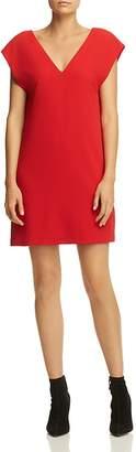 Alice + Olivia Carita Tie-Back Shift Dress