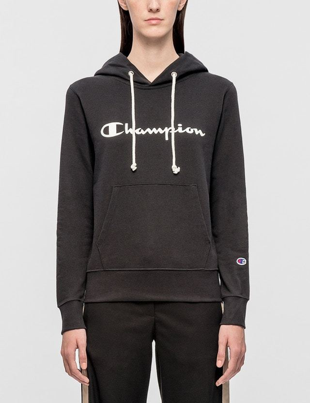 Champion Japan Script Logo Hoodie