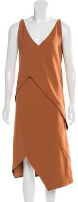 Narciso Rodriguez 2016 Sleeveless Tiered Midi Dress