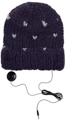 Rebecca Minkoff Hand-Knit Headphones Beanie