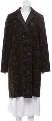 Kenzo Patterned Wool Coat