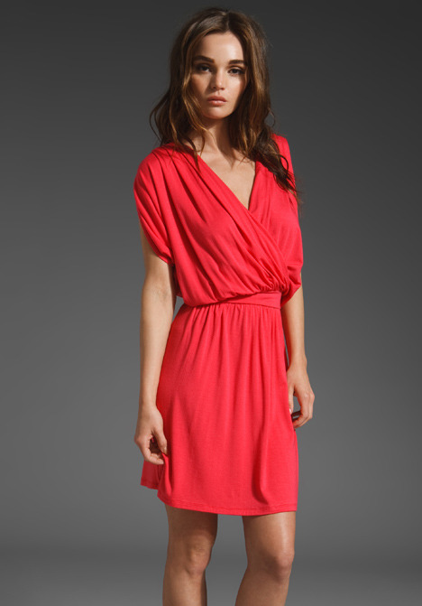 Michael Stars Nikki Surplice Dress