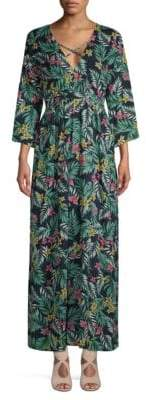 Lucca Couture Hayden Plunging Maxi Dress