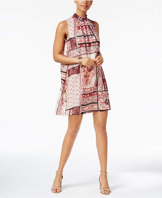 Eci Printed Shift Dress $60 thestylecure.com