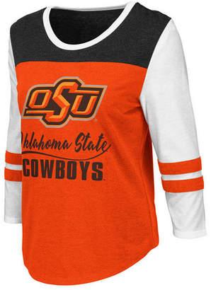 Colosseum Women Oklahoma State Cowboys Colorblocked Raglan T-Shirt