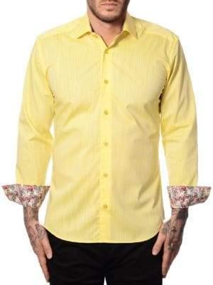 Contrast Cuff Sport Shirt