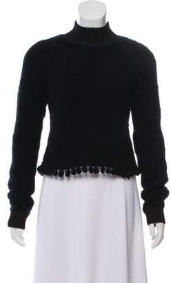 Jonathan Simkhai Bouclé Cropped Sweater