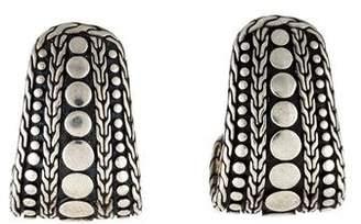 John Hardy Dot Nuansa J-Hoop Earrings