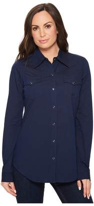 Roper 1272 Black Fill Women's Long Sleeve Pullover