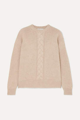 a5fc603922 Max Mara Cable-knit Cashmere Sweater - Beige