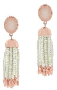 Jessica Simpson Beaded Dangle Earrings