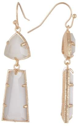 14th & Union Double Stone Drop Earrings