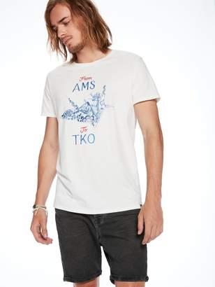 Scotch & Soda Concept Artwork T-Shirt